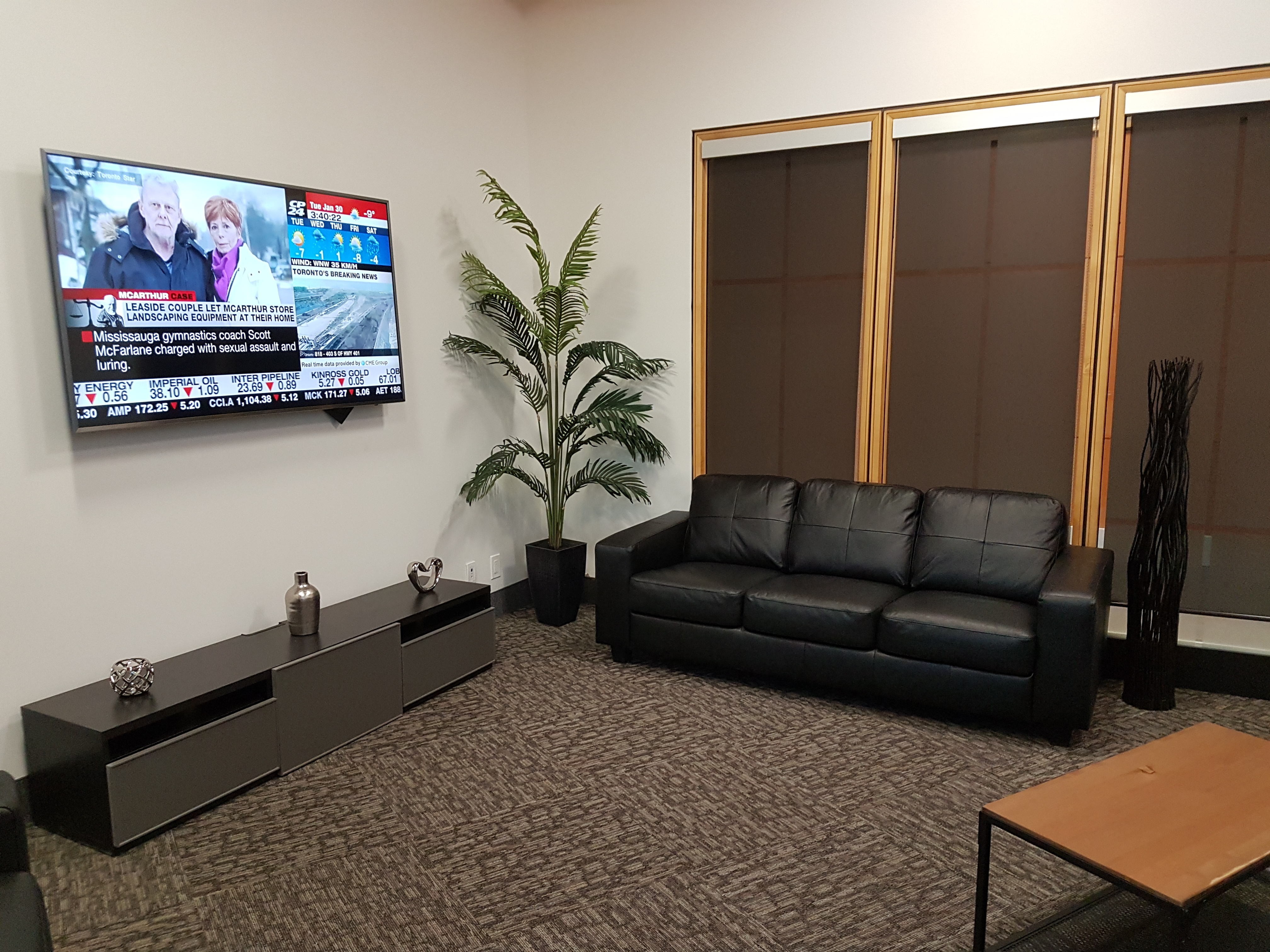 Whitehall Offices Business Lounge