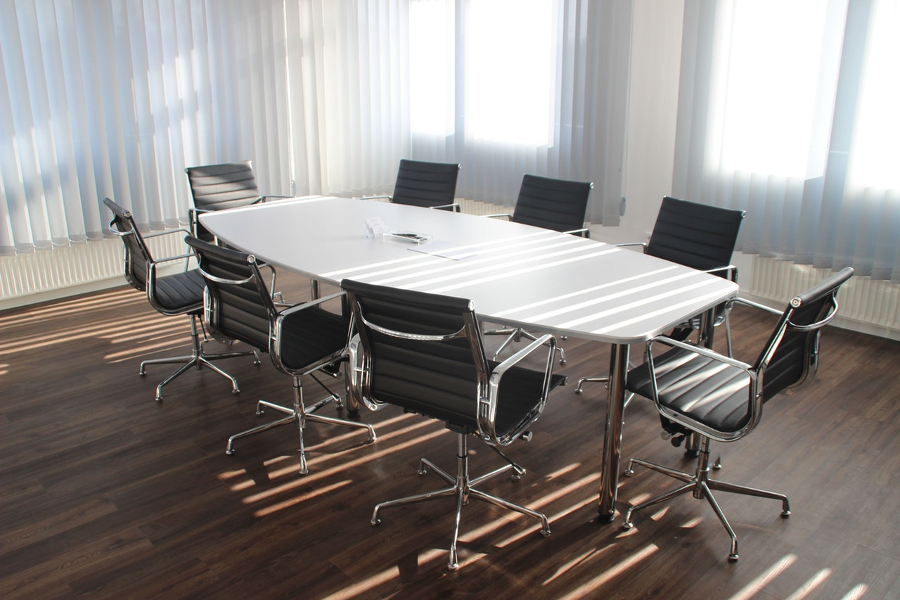 Corporate Meeting Rooms at Whitehall Offices